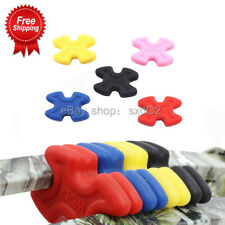 4pcs Bow Stabilizer Compound Bow Limb Saver Rubber Damping Reduce Shock Shooting