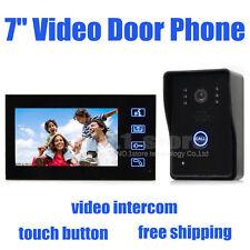 """7"""" LCD Touch Screen Color Video Door Phone IR Camera Doorbell Intercom Security"""