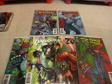 SUPERMAN Action Comics New 52 3-D Villain issues