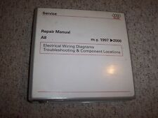 1997-2000 Audi A8 Quattro Electrical Wiring Diagrams Manual Binder 1998 1999