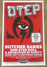 Otep 2012 Gig Poster Portland Oregon Concert
