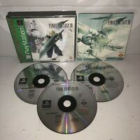 EX COND Final Fantasy VII 7 PS1 Sony PlayStation 1, 1997 COMPLETE Tested RPG