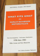 HARLEY DAVIDSON KNUCKLEHEAD SHOVELHEAD PANHEAD IRONHEAD Parts Manual_1936-1983