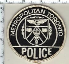 Metropolitan Toronto Police (Canada) Uniform Take-Off Shoulder Patch from 1980's