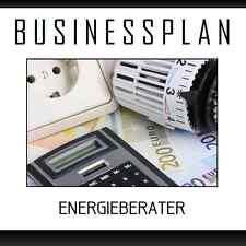 Businessplan Vorlage - Existenzgründung Energieberater inkl. Beispiel