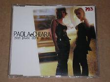 PAOLA E CHIARA - NON PUOI DIRE DI NO - RARO CD SINGOLO COME NUOVO (MINT)
