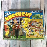 Its A Knockout Vintage (1982) Board Game