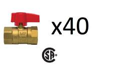 "American Valve M88C 1"" Gas Ball Valves"