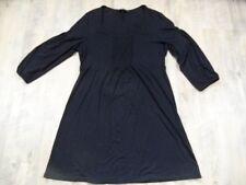 BODEN ENGLAND schönes Longshirt Jerseykleid schwarz Gr. 14 1017
