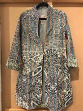 10 pc lot Indian silk kantha long duster reversible jacket women wear silk coat