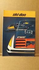 1973 Ski-Doo Tnt Everest Free Air Olympique Nordic Elan Snowmobile Brochure