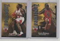 1997-98 Z-FORCE ZUPERMEN SCOTTIE PIPPEN & DENNIS RODMAN!! Chicago Bulls!!