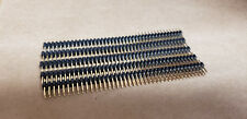 STRAIGHT DOUBLE ROWDUAL HEADER STRIP MALE 80PIN 2X40 (LOTS OF 5PCS)
