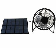 3.5W Solar Panel Powered 4'' Mini Fan For House Cooling Air Ventilation