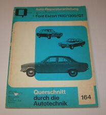 Reparaturanleitung Ford Escort 1100, 1300, GT - bis 1974!