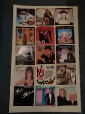 Vintage 1980's and Later Picture Sleeves for 45's (100 sleeves)