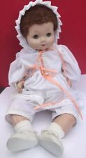 "Antique Vintage EFFANBEE Large 24"" Composition Doll Sweetie Pie Bright Eyes"