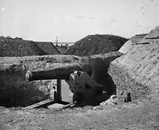 Captured Confederate gun Fort McAllister Savannah Ga New 8x10 US Civil War Photo