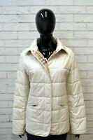 BURBERRY LONDON Giubbotto Donna Taglia L Giubbino Giacca Jacket Cappotto Beige