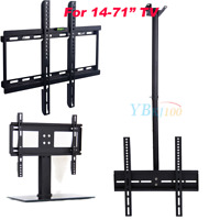14-71 Full Motion TV Wall Ceiling Mount Swivel Bracket Stand LED LCD Flat Screen