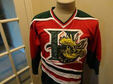 Vig SEWN Halifax Mooseheads Junior QMJHL CHL Hockey Polyester Jersey Youth S / M