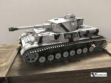 Torro 1:16 RC Pzkpfw IV / Réservoir 4 Modèle G Camouflage Hiver Ir-Battle