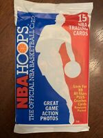 1989-1990 NBA Hoops Sealed Unopened Pack