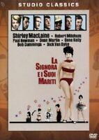 La signora e i suoi mariti Dvd Nuovo Sigillato  Dean Martin Shirley MacLaine