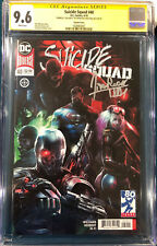 Francesco Mattina SIGNED Suicide Squad CGC 9.6 COMIC BOOK Movie Harley Quinn