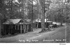 1930's/40's Sandy Bay Camps Cabins Greenville Maine Original Negative For Sale