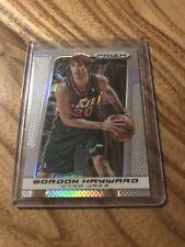 2013-14 Panini  Silver Prizm Basketball #16 Gordon Hayward Utah Jazz