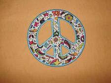 WALL STICKER LITTLE BROWNIE BAKERS PEACE SIGN  COOKIE PRIZE
