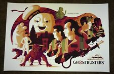 Tom Whalen Ghostbusters 2018 limited screenprint poster print mondo