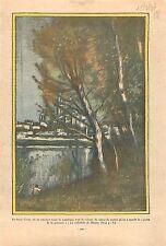 La Cathédrale de Mantes Tableau Jean-Baptiste Camille Corot Peintre France 1936