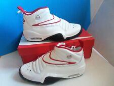 Nike Air Shake Ndestrukt US SZ 12 DENNIS RODMAN Bulls White Black Red 880869-100