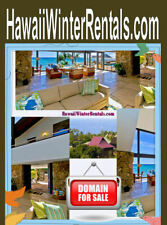 Hawaii Winter Rentals .com Domain Name For Sale Get Your Booking Machine On URL