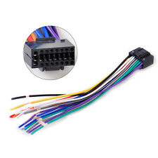 Car Radio Stereo Wire Harness CD Plug Cable 16 pin Connector fit for Kenwood