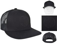 REPLAY Trucker Cap Men's Logo Black Hat Cotton One-Size Baseball Caps BNWT
