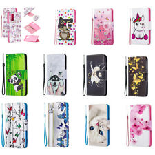 Pattern Flip Wallet Stand Phone Case Cover for Xiaomi Redmi Note 8 7 Pro 5 Plus