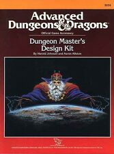 DUNGEON MASTER'S DESIGN KIT VF! 9234 AD&D D&D Masters TSR Dungeons Dragons Guide