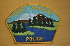 Vintage Lake Shastina, California Police Department Patch