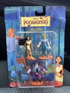 Disney Pocahontas Collectibles Figures Toy Retro Vintage 90s Figurines Mattel