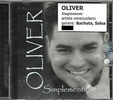 OLIVER - Simplemente (Bachata, Salsa) - CD - MUS