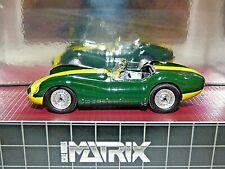 Matrix 1958 Lister-Jaguar Green and Yellow