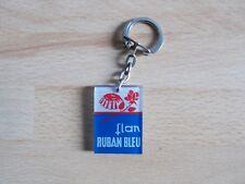 Porte-clés flan RUBAN BLEU