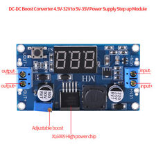 DC-DC Boost Step up Converter 5-32V to 5V-35V 9V 12V 24V Power Supply Module Hot