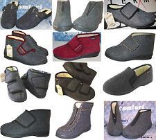 INTERMAX Pantofole Confortevole Caldo Casa Stivali Feltro Lana Vergine 36-48