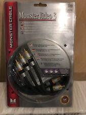 Monster Cable MV3CV-1M Monster Video Cable de video componente de 3 1 M