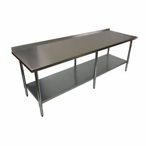 Commercial Premium Stainless Steel Wall Table - 2100mm
