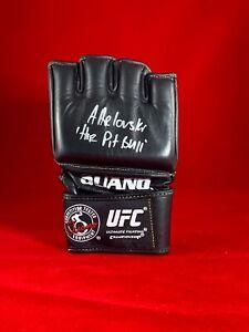 "Andre ""The Pit Bull"" Arlovski Signed UFC Ouano Glove Champ Strikeforce Autograph"